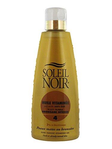 Soleil Noir Huile Vitaminée Bronzage Intense SPF 4 150 ml