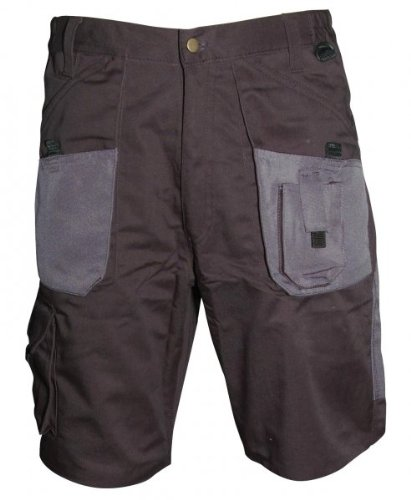 Blackrock Workman Cargo Pocket Work Shorts Black, Black/Grey or Navy (W34, Black/Grey)