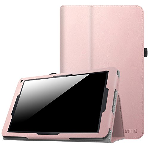 Fintie Hülle für XIDO X111 - Premium Folio Kunstleder Schutzhülle Tasche mit Standfunktion für XIDO X111 25,4 cm (10 Zoll) Tablet-PC (No Flash Version), Roségold