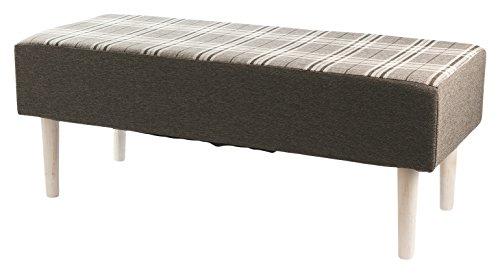 Galileo Casa 2410643Bank, Holz, Grau, 40x 100x 40cm