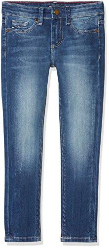 Tommy Hilfiger Jungen Scanton Slim ROBMD Jeans, Blau (Robust Mid Denim 911), 164 (Herstellergröße: 14)