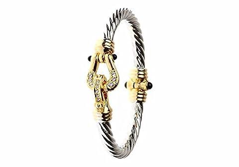 Deux Tons Bracelet magnétique
