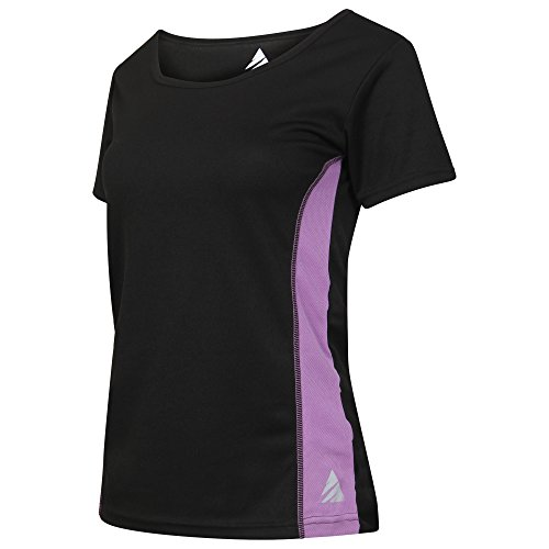 womens-ladies-sports-wicking-t-shirt-quick-dry-gym-running-exercise-yoga-performance-training-base-l