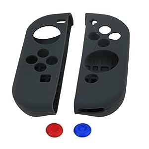 VICARA Für Nintendo Switch Silikon Case-Silikon Schutzhülle für Nintendo Switch Controller (grau)