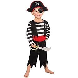 Disfraz de pirata grumete para niños, (8-11 años)