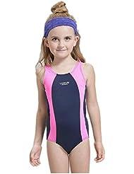 AMYMGLL Bikini Triangle Siamese Fille résistant pour enfants Le port de maillot de bain européen et américain Maillot de bain professionnel Enfants