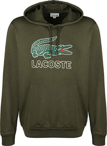 Lacoste Herren Sh6342 Sweatshirt, Braun (Baobab S7t), Large (Herstellergröße: 5) (Braun Männer Sweatshirts Für)