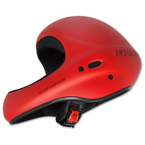 Charly INSIDER soft Flugsporthelm für Gleitschirm und Drachen, soft rot, Größe XL