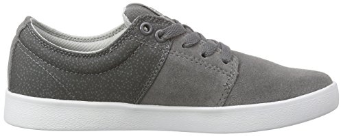 Supra Stacks Ii, Sneakers Basses mixte adulte Gris (CHARCOAL - WHITE CHR)