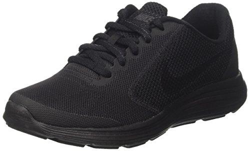 Nike Jungen Revolution 3 (GS) Laufschuhe, Schwarz (Black/Black), 39 EU