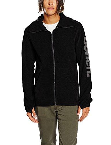 Bench Herren Sport Pullover BMEA2778, Gr. XX-Large, Schwarz (Jet Black BK014)