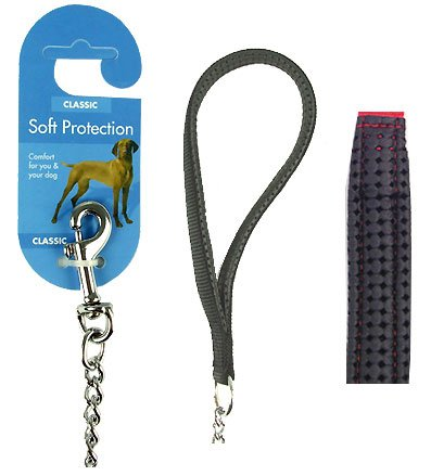 Rosewood Chain Lead, 2.5 mm/ 30-inch, Black 1