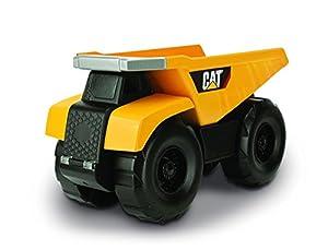 Hot Wheels Cat Vehículo de Obras públicas y construcción  Big Builder Remoto (con Cable) Camión Volquete