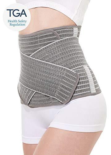 Mamaway Damen nano bamboo postnatale unterstützung bauchband, postpartum pelvis c-abschnitt Grau Medium -