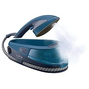 Calor ni5010C0Tweeny 2in 1Dampfbügeleisen/Dampfglätter Dampfbürste blau