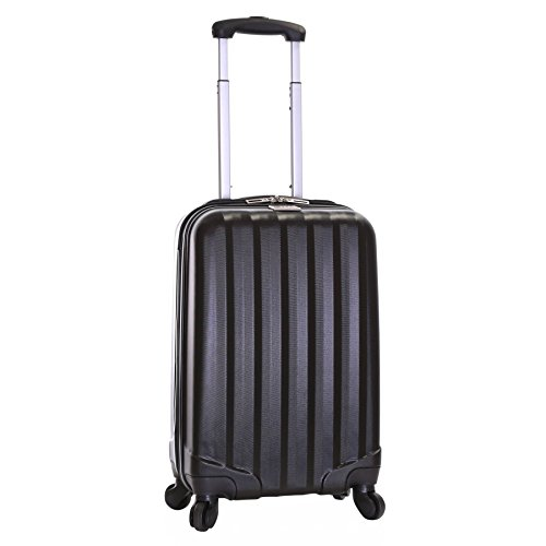 Slimbridge Banff 55 cm bagaglio a mano dura, Nero