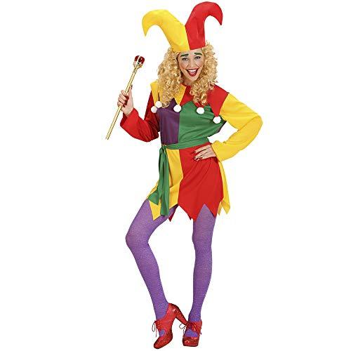 Widmann Erwachsenenkostüm Hofnarr (Mittelalterliche Joker Kostüm)
