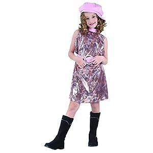Reír Y Confeti - Fiadis031 - Disfraces para Niños - Traje Gogo - Chica - Talla S