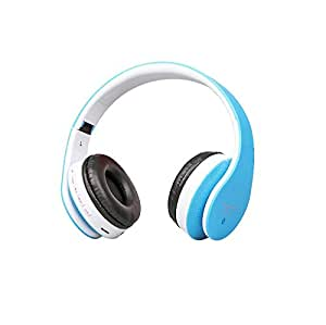Mobilegear High Bass Bluetooth Stereo Headphones with FM, MP3 Player & Micro SD for Mobiles & Laptop