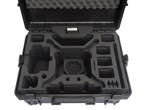 Profi Transportkoffer, Koffer für DJI Phantom 4 Pro / Pro Plus Kopter mit 6 Akkus + Zubehör, wasserdichter Outdoor Case, Hardcase - 2