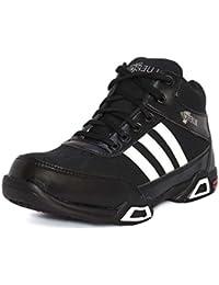 Blue Pop 321 Black Lace Up Casual & Gym Shoes For The Men