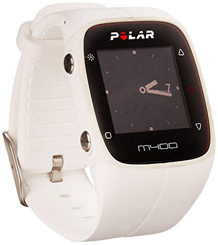 Polar M400 HR GPS-Laufuhr – Farbe weiß – Jogger Uhr 2017 - 3