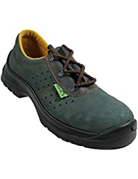 Siili Safety - Calzado de protección de Piel para hombre negro negro, color negro, talla 47
