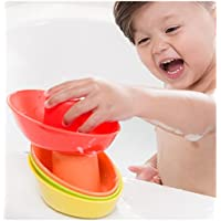 Nuby Stackable Bath Boats- 5 pack
