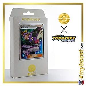 Mortimer (Morti) 212/214 Entrenadore Full Art - #myboost X Soleil & Lune 8 Tonnerre Perdu - Box de 10 Cartas Pokémon Francés
