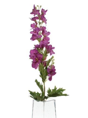 Floral Elegance F034PL - Dauphinelle artificielle magenta de 80 cm