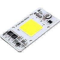 SGerste 50W Blanco Cálido COB LED Luz Chip Thunder Protección para Foco Foco AC220-240V-Blanco Cálido