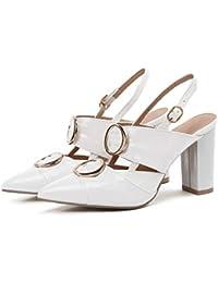 679c1e13d0 Zapatos con Tacon Alto para Mujer Mujer Sandalias Zapatos de tacón Tacones  Puntiagudos de