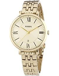 Fossil Damen-Armbanduhr Analog Quarz Edelstahl ES3434