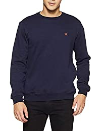 DELHITRADERSS® Mens Winter Imported Long Sleeves Slim Warm Sweatshirt(Size-M)(Blue)
