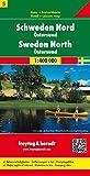 Freytag Berndt Autokarten, Schweden Nord - Östersund, Blatt 5 - Maßstab 1:400.000