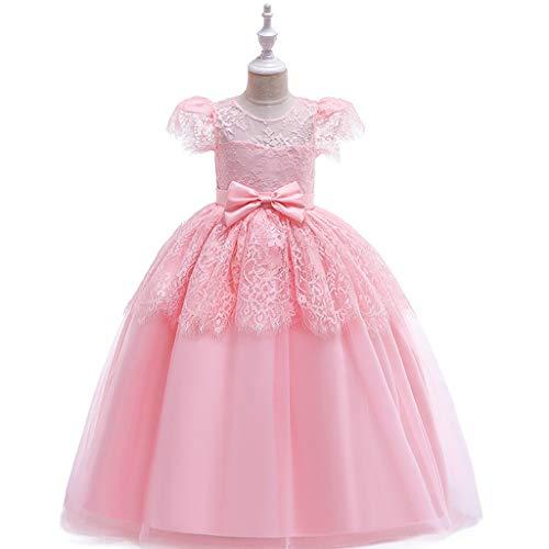 Kostüm Rosa Cinderella - DMMDHR Halloween Halloween Cinderella Schneewittchen Kinder Kleider Für Mädchen Party ELSA Prinzessin Kleid Kinder Kostüm Mädchen Kleid Rapunzel Kleidung, Rosa, 6