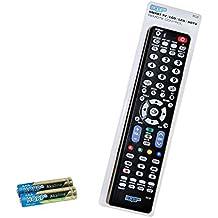 HQRP Mando a distancia para televisores LED de Samsung UHD Curvo Smart TV JU6500 UE40JU6500K, UE48JU6500K, UE55JU6500K, UE65JU6500K