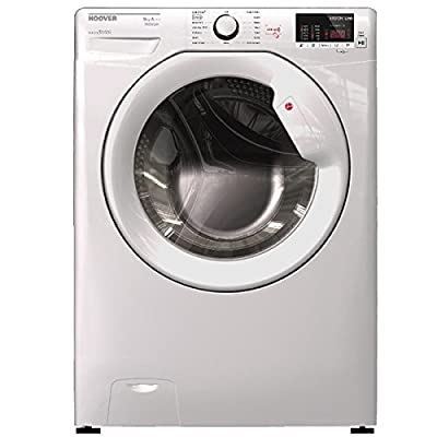 Hoover HL1482D3 8kg 1400rpm A+++ White Washing Machine with One Touch and Hoover Link from Hoover