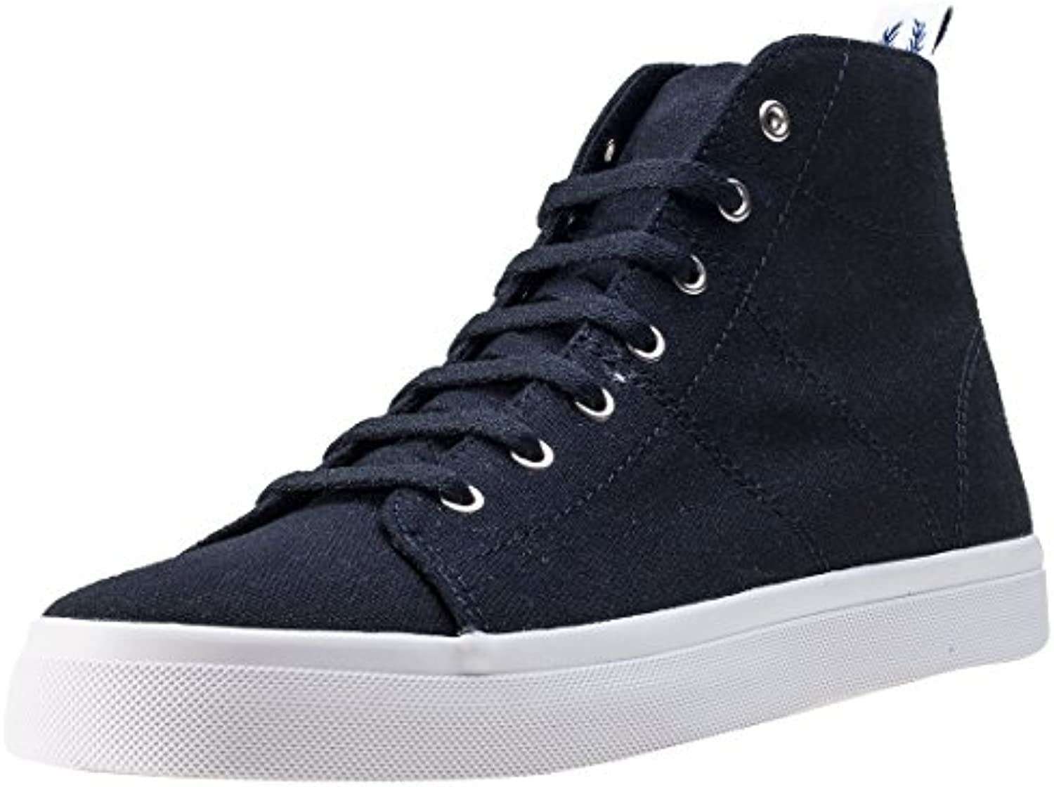 Fred Perry Ellesmere Mid Canvas W Schuhe Navy