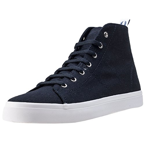 Fred Perry Ellesmere Mid Donna Stivali Navy - 7 UK