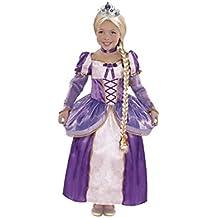 Disfraz Princesa Rapunzel Trenza niña infantil para Carnaval (7-9)