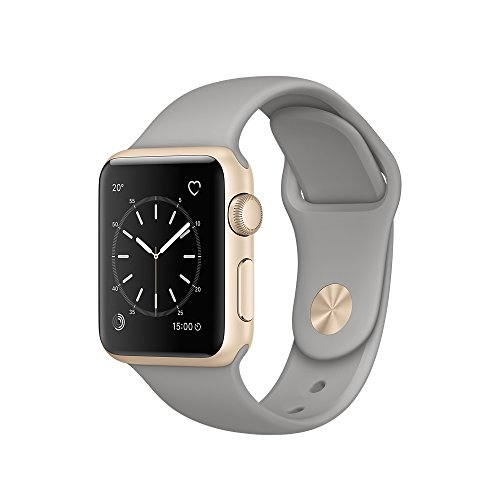 Apple 38 mm Series 1 Smart Watch with Concrete Sport Band