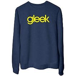Sudadera Blanc para Las Mujeras Azul Navy FUN1582 Gleek Glee Geek