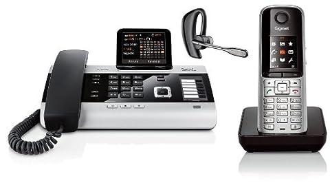Gigaset DX600A SET mit S810H Mobilteil und Plantronics Voyager LEGEND - Bluetooth Headset