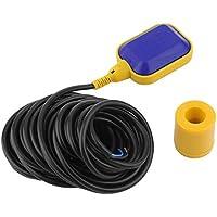 Interruptor de Flotador de Nivel Funnyrunstore Sensor de Control de Nivel de Agua de plástico para