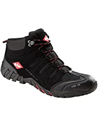 Lee Cooper Mens Safety Lightweight Boot Steel Toe Cap & Sole penetration Plate Work Slip & Oil Resistant Shoe Branded Unisex Footwear Protection Midsole Leather LCSHOE020 Black UK6,7,8,9,10,11,12