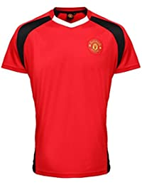 PunkFootball Manchester United FC Oficial Adultos Performance fútbol Camiseta ...