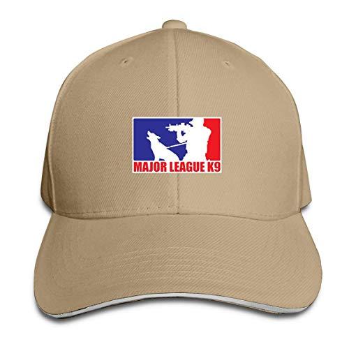 Ingpopol Major League K-9 Shooting Tactical Black Ops Military Unisex Adjustable Sandwich Cap Baseball Cap Casquette