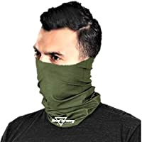 HeadTurners Unisex Neck Gaiter Headband Bandana for Dust & Sun Protection - Face Cover/Scarf for Fishing, Hiking…