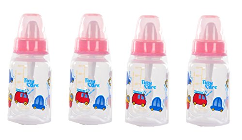 Tiny Care Diamond Baby Feeding Bottle(Pack Of 4,120 Ml)